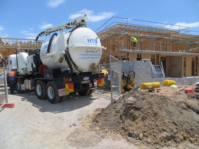 Vacuum Excavation, HTD Australia