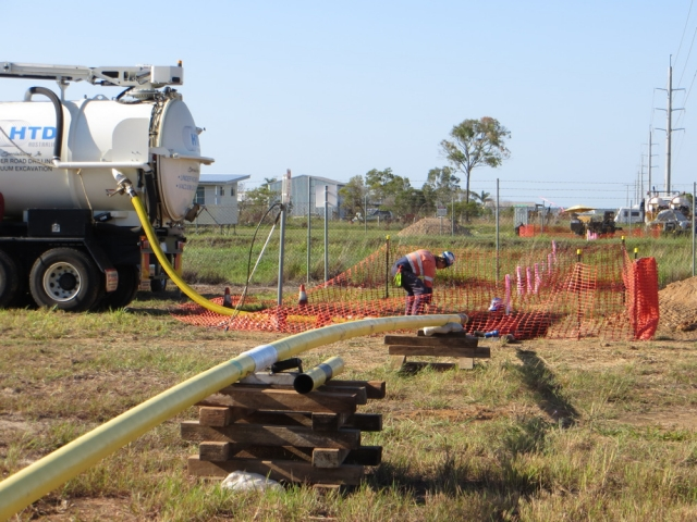 Horizontal drilling install of Gas Services