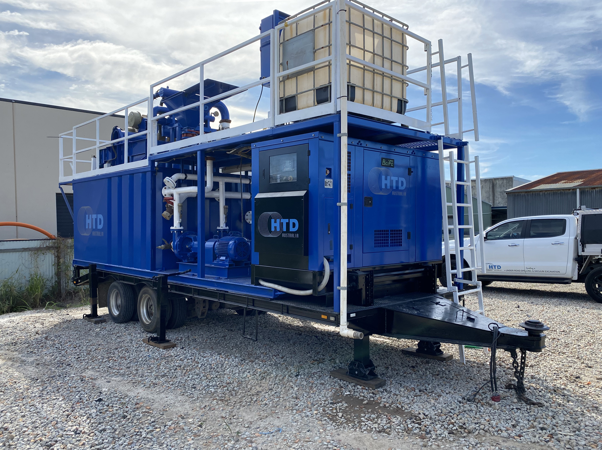 Kemtron Mobile Recycling System - Trailer Mounted